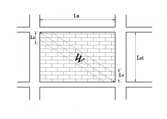 Έλεγχοι επιρροής τοιχοπληρώσεων σε υποστυλώματα με αυτόματο υπολογισμό λοξού θλιπτήρα